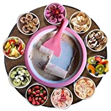 Monsterzeug Roll Eis selber machen, Eiscreme Maschine, Ice Rolls DIY Set, Rolled Ice Cream Maker,...