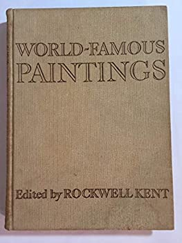 Hardcover World Famous Paintings 100 Full Color Plates Rockwell Kent Book