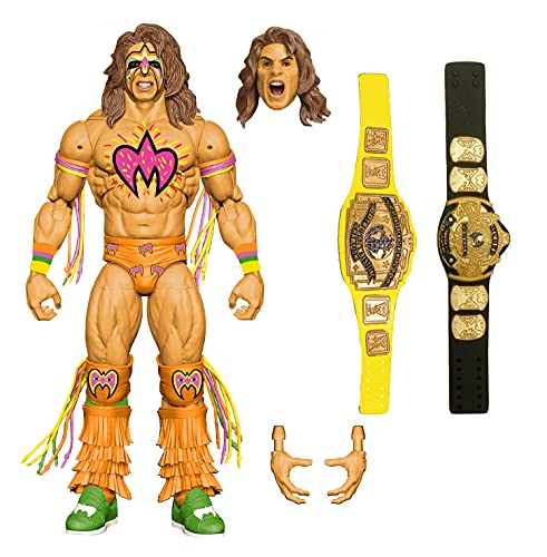 WWE Ultimate Warrior Ultimate Edition Fan Takeover Action Figure