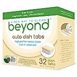 Beyond Natural Dishwasher Tablets - Fragrance & Dye Free - ZERO PLASTIC...