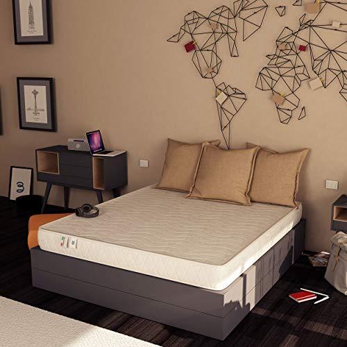 Baldiflex , Materasso Easy Altezza 18cm 140 x 190 cm, Cotone Ortopedico