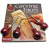 Best Woodcarving Sets - Enlow Carving Faces Workbook & 4pc Woodcarving Tool Review