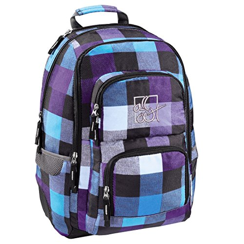 All Out Rucksack Louth (Caribbean Check, 26 Liter) bunt