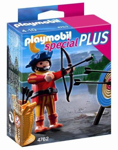 PLAYMOBIL Especiales Plus - Arquero, Juguete Educativo, 10 x 3,5 x 12,5 cm, (4762)