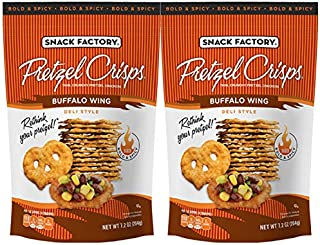 Snack Factory Buffalo Wing Pretzel Crisps 7.2oz (2 pack)