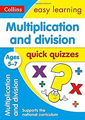 Multiplication & Division Quick Quizzes Ages 5-7 (Collins Easy Learning KS1) from Collins
