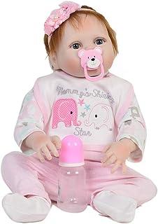 FWBB Reborn bebé Realista Reborn Bebé Linda muñeca 95% Traje de muñeca de algodón,