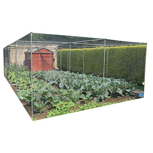 Gardening-Naturally Large Walk-In Aluminium Fruit Cage
