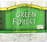Green Forest 100% Recycled Paper Towels, 10 pack, 3X104 Count