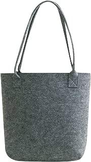 Bageek Womens Tote Large Capacity Felt Tote Handbag Shopping Bag Shoulder Bag for Travel
