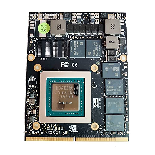 Carte graphique de rechange 6 Go pour NVIDIA GeForce GTX 970M N16E-GT-A1, pour Dell Alienware MSI Clevo HP EliteBook Gaming Laptop Mobile Workstation, GDDR5 MXM VGA