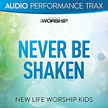 Never Be Shaken (feat. Jared Anderson) [Audio Performance Trax]