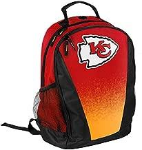 FOCO NFL Kansas City Chiefs Logo Gradient Print Primetime Deluxe Backpack, Team Color, Standard, One Size