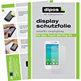dipos I 2X Schutzfolie matt kompatibel mit Alcatel One Touch Pop S3 Folie Bildschirmschutzfolie
