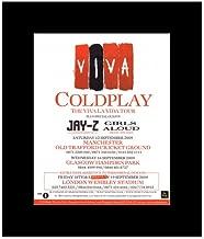 Music Ad World Coldplay - Viva La Vida Tour 2009 Mini Poster - 30x24.2cm