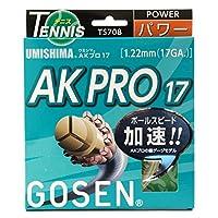 ゴーセン(ゴーセン) 硬式テニスストリングス シンセティックガット AKプロ17(AK PRO 17) TS708NA (キナリ/FF/Men's、Lady's、Jr)