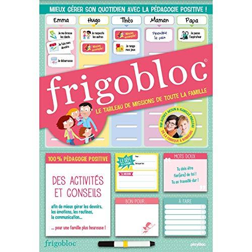 Tableau des missions aimanté Frigobloc