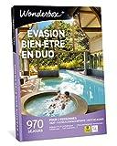 Wonderbox - Coffret cadeau couple - ÉVASION BIEN-ÊTRE EN DUO – 970 Week-ends romantiques : hôtels 3*à5*, hôtels-spa, châteaux