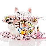 GRJ XYD Small Ornaments- Sakura Ceramic Crafts Piggy Bank Japanese Decoration Home Decoration Lucky |Commodity Code: LJW-818