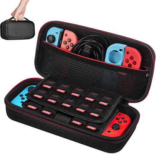 Funda para Nintendo Switch - Younik Versión mejorada Viaje rígida Case con...