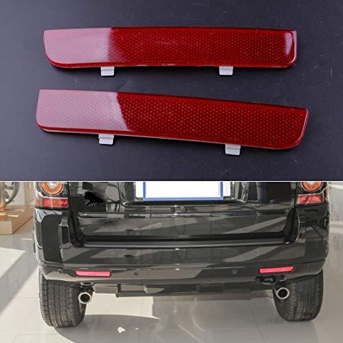 Reflektor für hintere linke und rechte Stoßstange, rot, für Land Rover Range Rover L322 Freelander LR2, 1 Paar