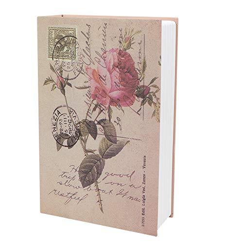 Operalie Caja de Seguridad, Mini Libro de imitación Caja de Seguridad Armario de contraseña Caja de Almacenamiento de Seguridad para joyería de Dinero