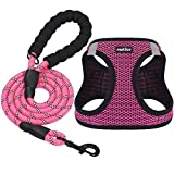 matilor Dog Harness Step-in Breathable Puppy Cat Dog Vest Harnesses for Small Medium