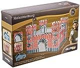 Glow2B Germany GmbH 1000524 Ritterburg aus Holz, inklusive Zwei Leitern, eine Fahne, eine Steinschleuder, 21 Teile