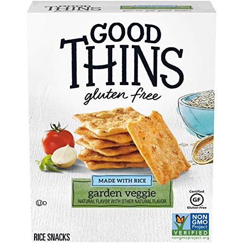 Good Thins Garden Veggie Rice Snacks Gluten Free Crackers, 3.5 oz