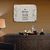 Free Brand Always Kiss Your Boxer Goodnight-01 Iron Plate Shabby Decor Metal Sign for Bedroom Den Garage Cafe Bar Metal Tin Signs Vintage Art Poster Plaque Man Cave Den Home Wall Decor.