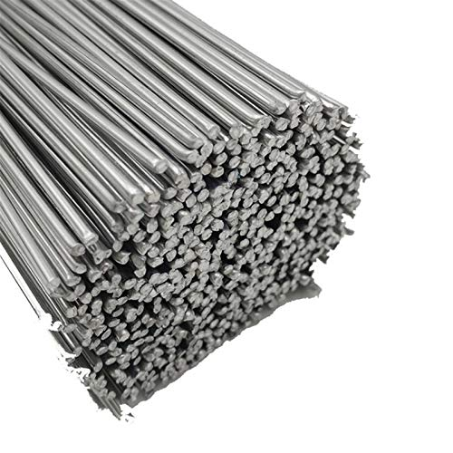 Alambre de soldadura de aluminio de 1,6/2/2,5/3,2 mm de diámetro, alambre de aluminio con núcleo de baja temperatura, fácil fusión para soldar (diámetro: 2 mm, material: 30 piezas)