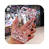 Fun-boutique Coque pour Samsung S8,Bling Diamonds Crystal Clear Phone Case Cover for Samsung S8 S9...