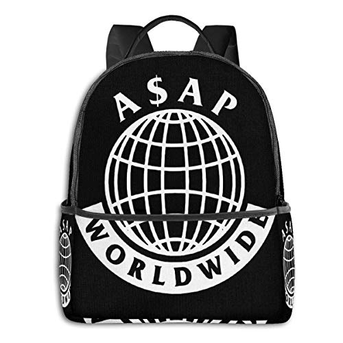 zhengdong A-Sap Rocky Worldwide Laptop Rucksack Modethema Schulrucksack