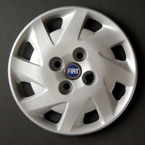 Jeu de 4 Enjoliveurs Neuf pour Fiat Punto 2 1999> avec Roues Originales en 13 Pouces