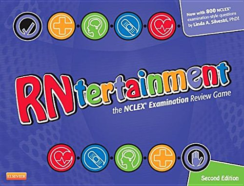 RNtertainment( The NCLEX Examination Review Game [With Dice and Question Cards Tip Cards Trap Cards and Games Pieces and Gameboard])[GM-RNTERTAINMENT 2/E][Other]