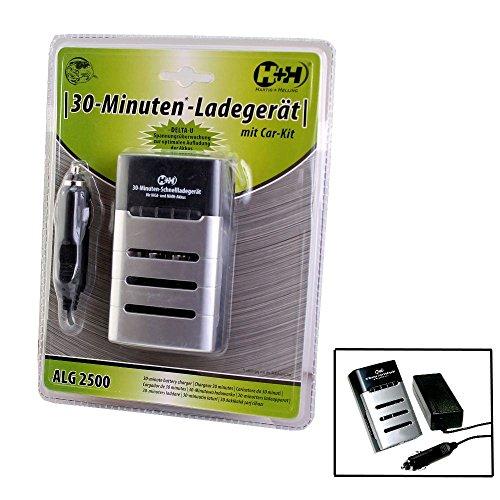 H+H - Batteries et chargeurs - 30 minutes express chargeur d´accus ALG 2500