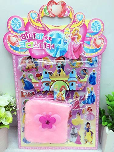 Bubble Stickers Kinder Cartoon Prinzessin Kleid, dreidimensionale Bubble Sticker, Prinzessin Kleid Kleidung Stick Wallet DIY 2016