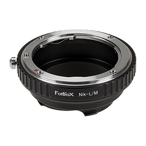 Fotodiox Lens Mount Adapter, Nikon Lens to Leica M Adapter, fits Leica M-Monochrome, M8.2, M9, M9-P, M10 and Ricoh GXR Mount A12