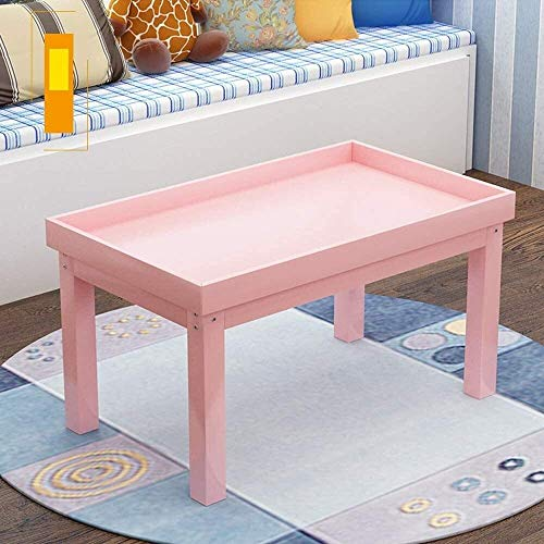 Cxjff Spazio bambini tavolo para bambini di bambini Sand Tavolo en legno massiccio mesa de juego precoce educazione escritorio juguete Tavolo giardino della casa Tavolo da picnic (color: azul, tamaño: