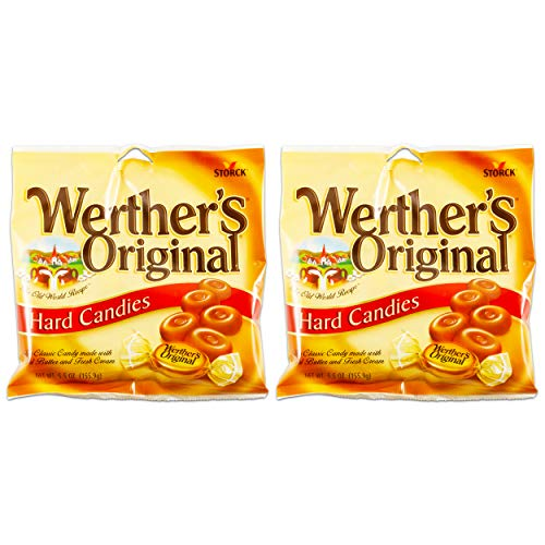 Werther's Original Hard Candies, 2.65-oz. Bags (set of 2)