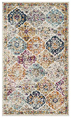 Safavieh Madison Collection MAD611A Bohemian Chic Vintage Distressed Area Rug