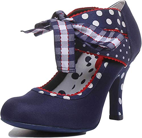 Ruby Shoo Aisha Blue Womens Heels