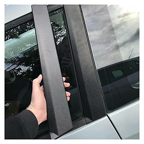 LIULIANG MeiKeL Ajuste de la Ventana de la Puerta de la Puerta Delantera Exterior Derecha para Ford para Fiesta para Fiesta MK6 2003-2010 3 Solo Modelo de Puerta