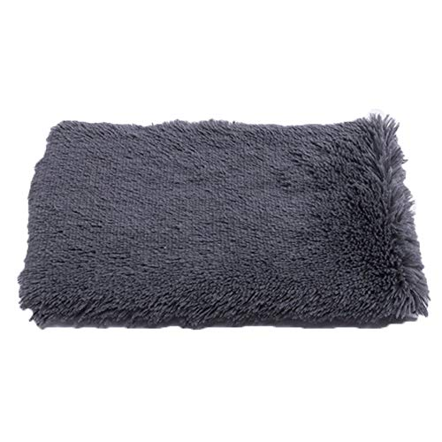 Pet Bed Mattress Dog Cat Cushion Pillow Mat, Rest Bed Blanket Soft Warm Large Rectangle With Cushion Mat Warm Basket Fleece Lining Deluxe Puppy Cushion Pet Washable