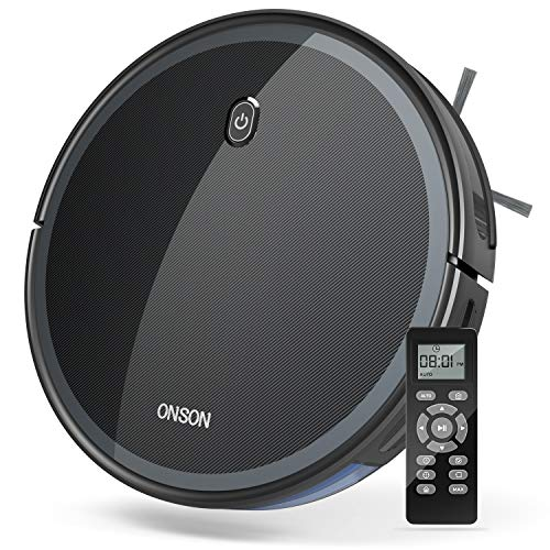 GOOVI by ONSON Robot Vacuum, 1800Pa Robotic Vacuum Cleaner (Slim) Strong...