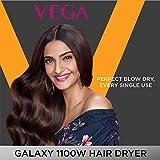 VEGA Galaxy 1100 Hair Dryer (VHDH-06), Color may Vary