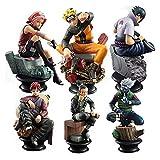 YSJJOSX Figura Model 6pcs / Set Figuras de Anime de PVC para la colección de decoración Juguetes de Regalo (Color : Style 1 OPP Bag)