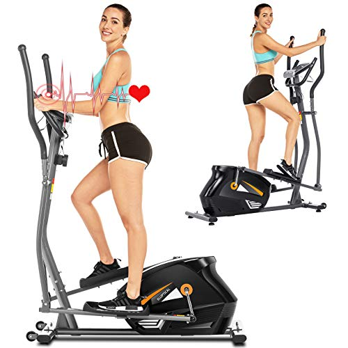 FUNMILY Elliptical Machine, Cross Trainer for Home Gym...