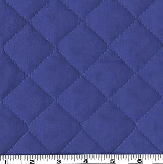 Fabri-Quilt Double-Sided Quilted Broadcloth Blue Fabric by The Yard