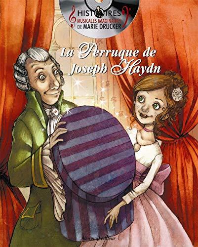 Coffret Marie Drucker - la perruque de Joseph Haydn: Livre + Cd